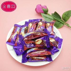 批发巧克力喜糖 怡口莲巧滋脆花生夹心米果巧克力 散装结婚糖果