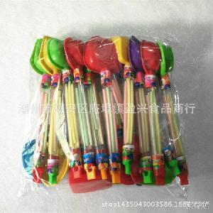 彩色水果味糖果 出口玩具糖果 toys 沙滩组合 candy 湿粉果粉