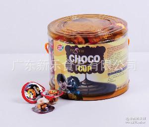巧乐杯美味星球杯 散装一箱10斤 巧乐杯糖果 巧克力浆饼干粒