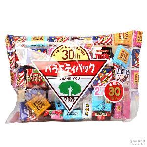 多彩什锦巧克力27枚袋装 批 松尾 27粒入160g*10袋/组 日本进口