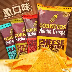 墨西哥风味大包膨化多口味 印度重口味薯片 考尼特 芝士味玉米片