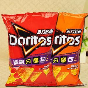 188g/包 台湾进口膨化薯片休闲零食 多力多滋玉米片