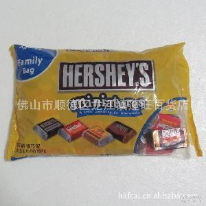 糖果巧克力 好时巧克力 559g 美国好时四种口味杂锦巧克力 好时