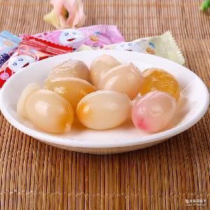 多口味水果软糖 30斤 乳酸菌酱心软糖 结婚喜糖批发 休闲零食直销