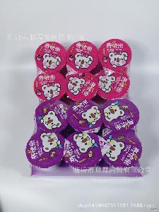 滨崎奇优米25g蘸酱杯仿手指饼干加果酱跳糖25g*48个休闲零食