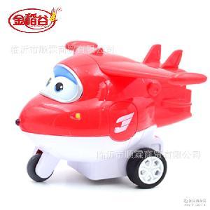 美滋滋超级飞侠飞车休闲玩具糖果10g*4个