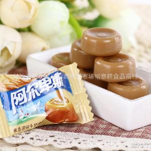 阿尔卑斯糖牛奶糖硬糖散装糖果5斤批发婚礼喜糖批发情人节零食