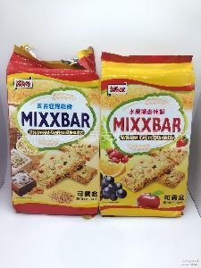 台湾进口 箱 五谷杂粮纤麦棒饼干 320gMixx水果味 1*12包