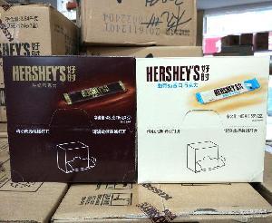 休闲零食 【16年11月】好时曲奇奶香白巧克力牛奶味15g*32条480g