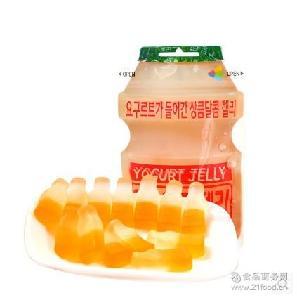 韩国进口糖果乳酸软糖 清仓处理 益力多橡皮糖儿童QQ软糖50g/袋