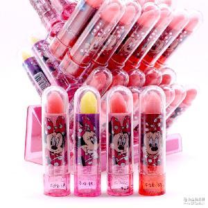 【迪士尼】创意米妮果味零食儿童趣味零食玩具糖果口红糖