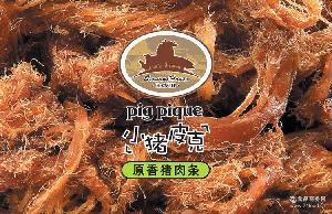 四季屋小猪皮克独立包装纯香猪肉30g猪肉干猪肉脯猪肉粒休闲零食