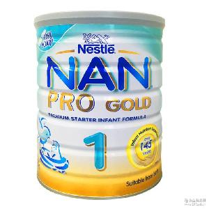 Pro金盾1段婴儿奶粉800g罐装批发 澳洲代购进口Nestle雀巢能恩NAN