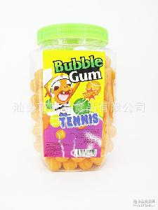 ball 热销 中东 bubble 网球泡泡糖Tennis 出口 gum 非洲