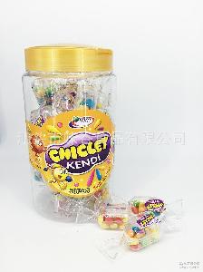 水果味泡泡糖 bubble fruit 中东/非洲 gum 出口热销