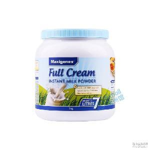 澳洲直邮Maxigenes美可卓蓝胖子全脂高钙儿童孕妇成人牛奶粉1kg