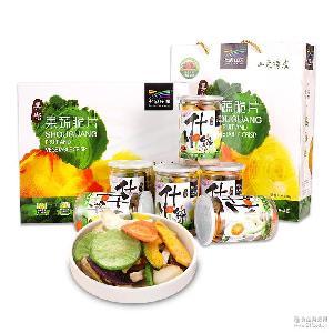 综合果蔬干什锦礼盒蔬果干脱水食品蔬菜干零食休闲散货蔬果脆干