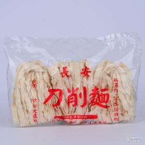 长安刀削面(原味)300g 自然晒干 批发供应台湾手工面