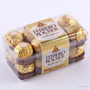 节日休闲儿童小零食 2016新款费列罗榛果威化巧克力16粒装
