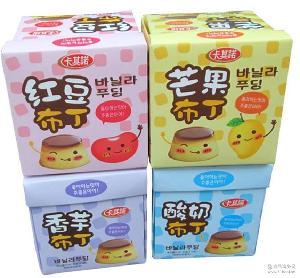 360g卡其诺果冻布丁 香港进口果冻 30g*12粒精美盒装果冻布丁