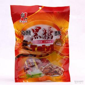 台一绿茶酥220g*40包/箱手工花生酥休闲零食批发 台湾进口食品