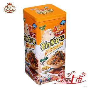 香港进口肉类零食 80g泰式猪肉松肉条肉脯胡萝卜海苔原味量大批发