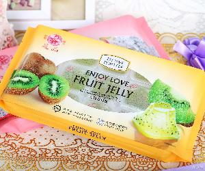 热销台湾进口果冻 夏季热销特色食品奇异果水果口味果汁果冻批发