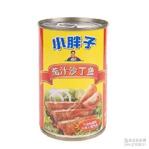 泰国进口鱼肉即食品 425g 小胖子番茄汁沙丁鱼罐头 水产罐头