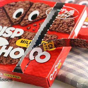 日本进口零食日清CISCO麦脆批巧克力玉米片披萨型饼干批发