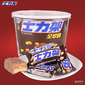 批发士力架花生夹心巧克力 糖果巧克力 巧克力全家桶 休闲零食