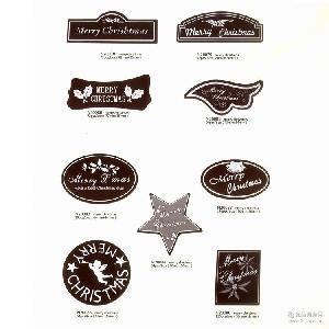 多种款式立体巧克力蛋糕装饰 批发 烘焙装饰 立体巧克力装饰