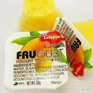 一箱10斤 优酪果冻 进口马来西亚果冻 果肉果冻