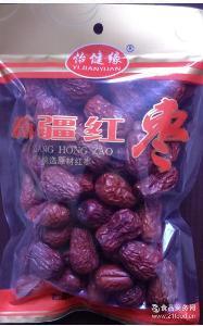 一手货源新疆骏枣258克袋装 新疆特产批发 免水洗优质新疆红枣