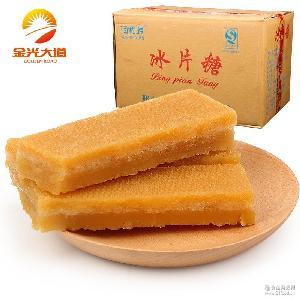 红片糖黄糖块古法土红糖块批发正宗甘蔗冰片糖酵素专用黄片糖