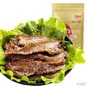 【百草味-香酥小黄鱼200g】休闲零食小鱼干小鱼仔即食小吃鱼片
