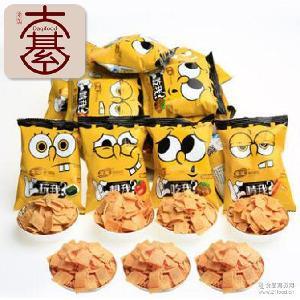 宏途法式小薯片8斤/箱吃我啃我系列麻辣味休闲零食童经典膨化食品
