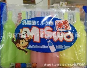米斯乐乳酸菌奶棒 整箱20袋 香港 综合果冻