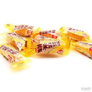 雅客粟米烧软糖凝胶糖玉米味500g休闲零食婚庆喜事喜糖结婚糖果