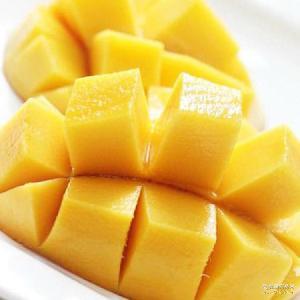 青芒水果批发 香甜多汁大芒果 厂家批发新鲜热带水果绿皮水仙芒