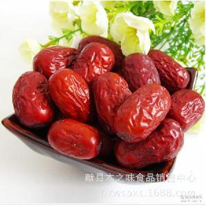 500g散装干果休闲食品 红枣一件代发 新疆特产一级免洗若羌灰枣