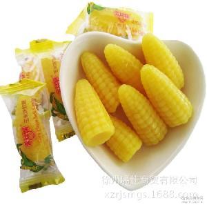 散装玉米软糖玉米糖批发 金丝猴糖果喜糖玉米软糖