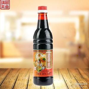 鸡饭老抽 640ml 黑酱油 甜酱油 广祥泰 新加坡原装进口老字号