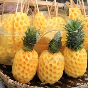 现货新鲜水果菠萝8斤装云南菠萝水分较高 爆款批发 去油腻菠萝