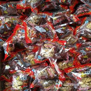 厂家直销新疆特产红枣夹核桃散装500克枣加核桃独立包装
