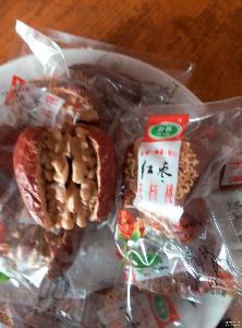 zhixiao双从营养补脑食品新疆特产红枣和田红枣大枣加核桃仁