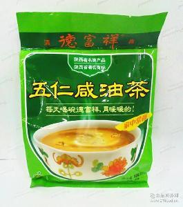 油茶 袋装 五仁咸 400克 德富祥油茶 特产批发 牛骨髓 清真食品