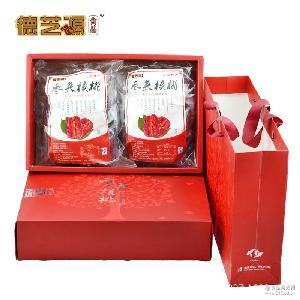 红枣夹核桃 枣核桃礼盒一件代发招代理 新疆枣王超大 夹心核桃枣