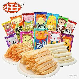 4斤/件 限时特价 小王子生肖薯片董小姐十二生肖膨化零食12种包装