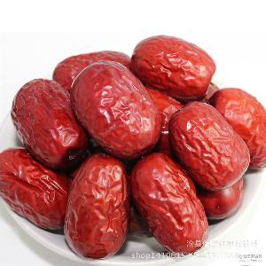 一件代发批发 新疆若羌灰枣一级红枣免洗500g散装干果休闲食品