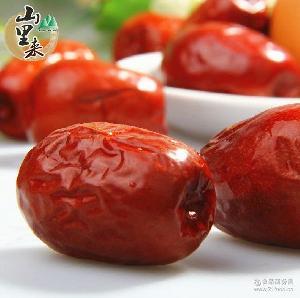 山里来 和田枣 新疆特产红枣 女人补品红枣250g 大红枣和田枣